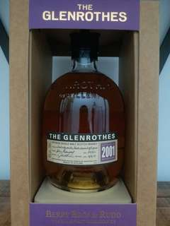 Glenrothes 2001 whisky 威士忌 700ml 40%