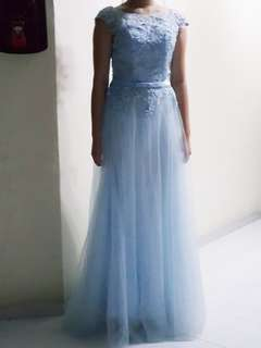 Baby Blue Prom / Birthday Gown