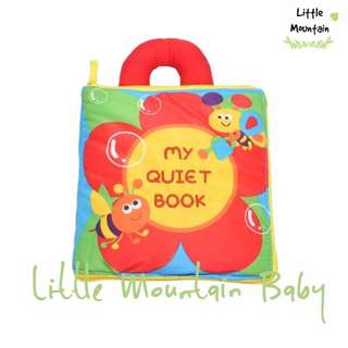 Baby Cloth Book My Quiet Book Series