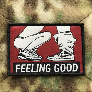 """🚚 """"FEELING GOOD"""" Moral Patch"""