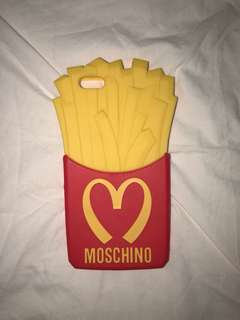 Moschino iPhone cover 6 plus