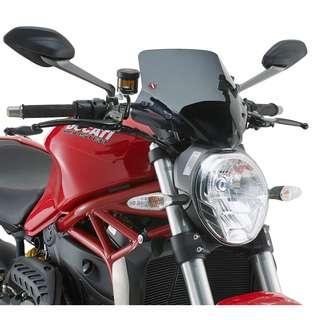 Givi A7404 Windscreen Ducati Monster 821/ 1200/ S 2014-2016