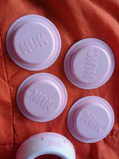 NUK bottle sealing disc (4 pcs)