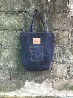 levis tote bag denim