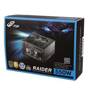 FSP Radier 550W 80+ Silver Power Supply