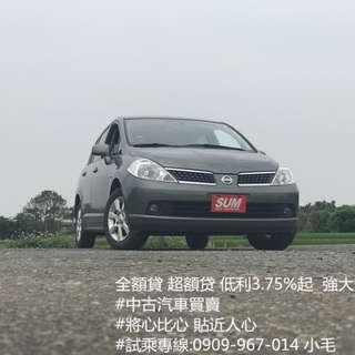 2011年 日產 TIIDA 跑6萬公里 非常新 歡迎來店賞車 試乘!!