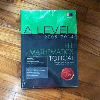 H1 MATHS TOPICAL BOOK