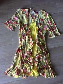 Zara summer skirt happy