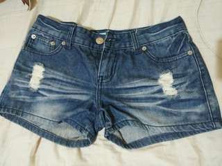 Hotpants jeans solemio