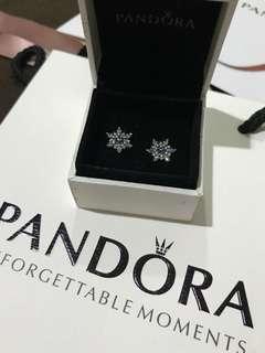 Pandora Snowflakes Earrings💎