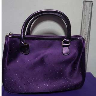 Victoria Secret Purple Hand Bag with bling