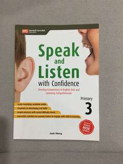 Speak and listen with confidence P3