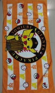 "Picachu towel 24"" x 48"""
