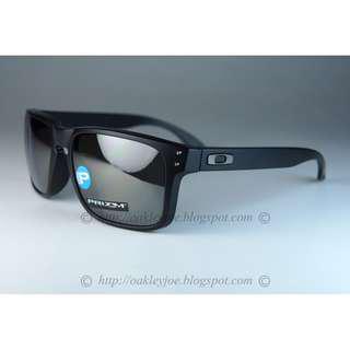 eb65cadd97 BNIB Oakley Holbrook Asian Fit matte black + prizm black iridium polarized  oo9244-2556 sunglass