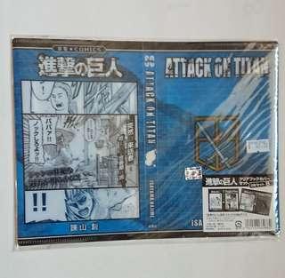 [日本正版]進擊的巨人塑膠書套