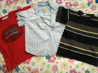 Take all boy tops (2-3 yo)