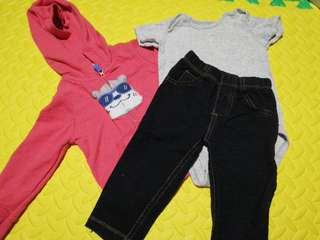 12 mos Carter's OOTD Set for your little one!