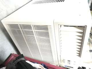 York Window Type Aircon (Price is Negotiable)