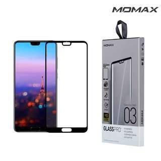 華為HUAWEI P20 Pro MOMAX GLASS PRO+ 全片幅強化玻璃貼 全屏覆蓋  0853A