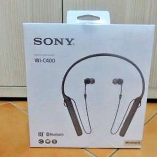 SONG WI-C400 WIRELESS STEREO HEADSET BRAND NEW AUTHEN TIC