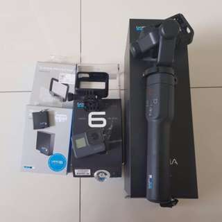 Gopro Hero 6 Black with karma Grip