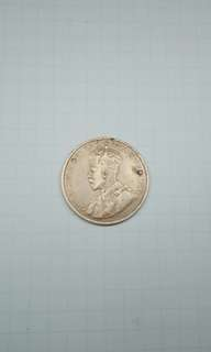 1916 Canada One Cent coin King George V good details