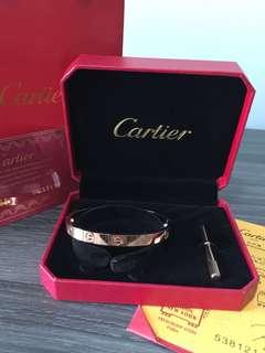 Cartier 手鐲