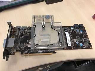 Radeon HD 6970 with water block