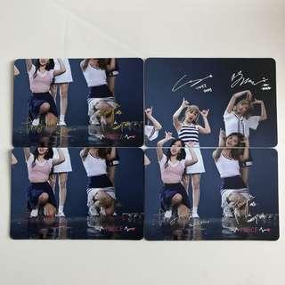 Twice Yes! Card 專輯卡part2 簽卡