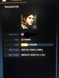 Blackshot Account (Major Purple)