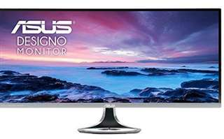 "ASUS MX34VQ, 34"" Curved Monitor, Dark Gray"