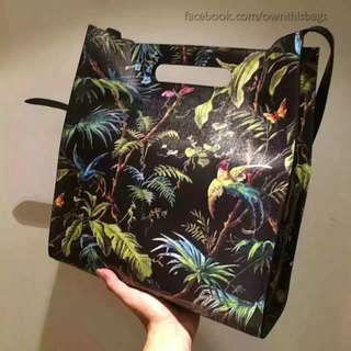 Gucci Tropical Leather Tote Bag