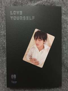 BTS LOVE YOURSELF TEAR (U version with V pc)