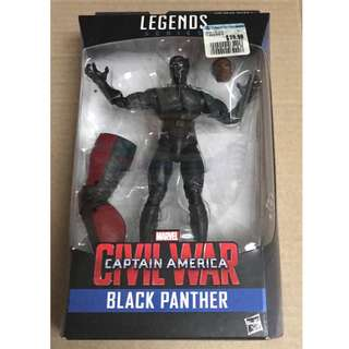 Marvel Legends Civil War Captain America Black Panther.