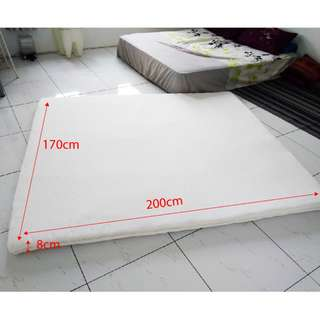 Ikea Sultan Mattress pad (white) for King size bed
