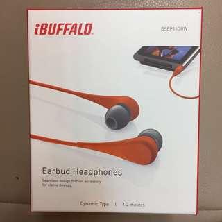 iBuffalo Earbud Headphones