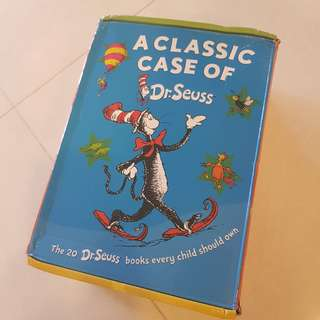 🔥SALE🔥Dr Suess Book Set 20 Books + 3 Audio CDs
