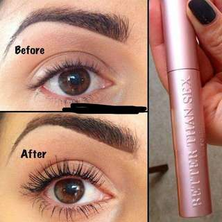 🚚 PO Too Faced Better Than Sex Mascara