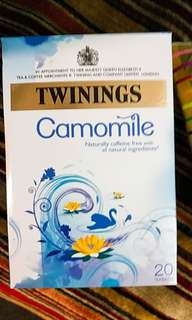 Twinings。 Camomile