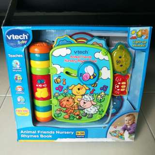 Vtech Baby Animal Friends Nursery Rhymes Book
