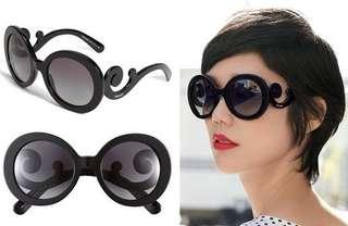 Prada Minimal Baroque Sunglasses (Authentic)