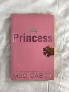 English Novel - Princess in pink