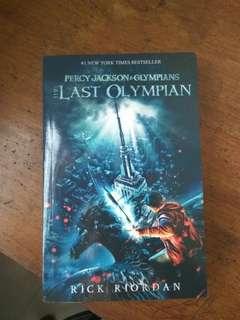 PERCY JACKSON: THE LAST OLYMPIANS