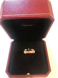 全新Cartier Ring戒子