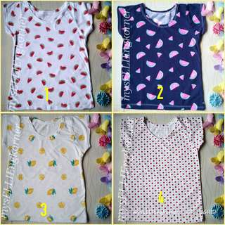 SALE!!!Girls high quality shirt 3-5 yo take all 15pcs