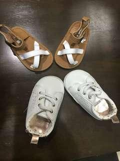 Carter's Shoes (3-6mths)