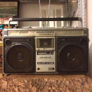 Vintage SHARP Boombox