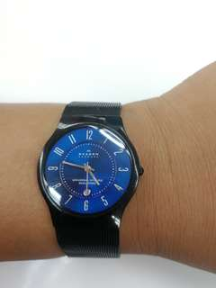 Rare Skagen Blue Dial Limited Edition