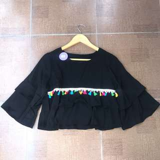 Layer top black