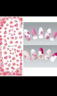 "SALE ""5psc"" Sheet Nail Art Design Water Transfer"